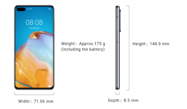 Specs: Huawei P40 series-cnTechPost