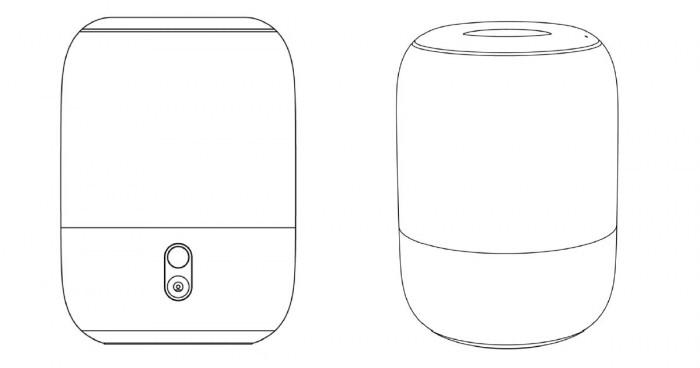 Xiaomi smart speaker patent reveals design similar to Apple HomePod-cnTechPost