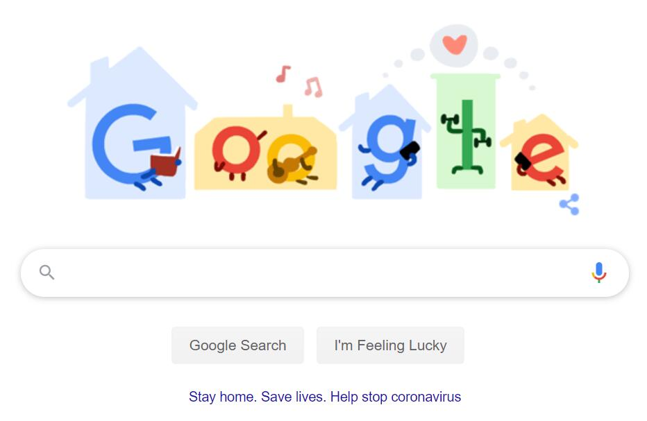Google's new doodle advises people to stay home-cnTechPost