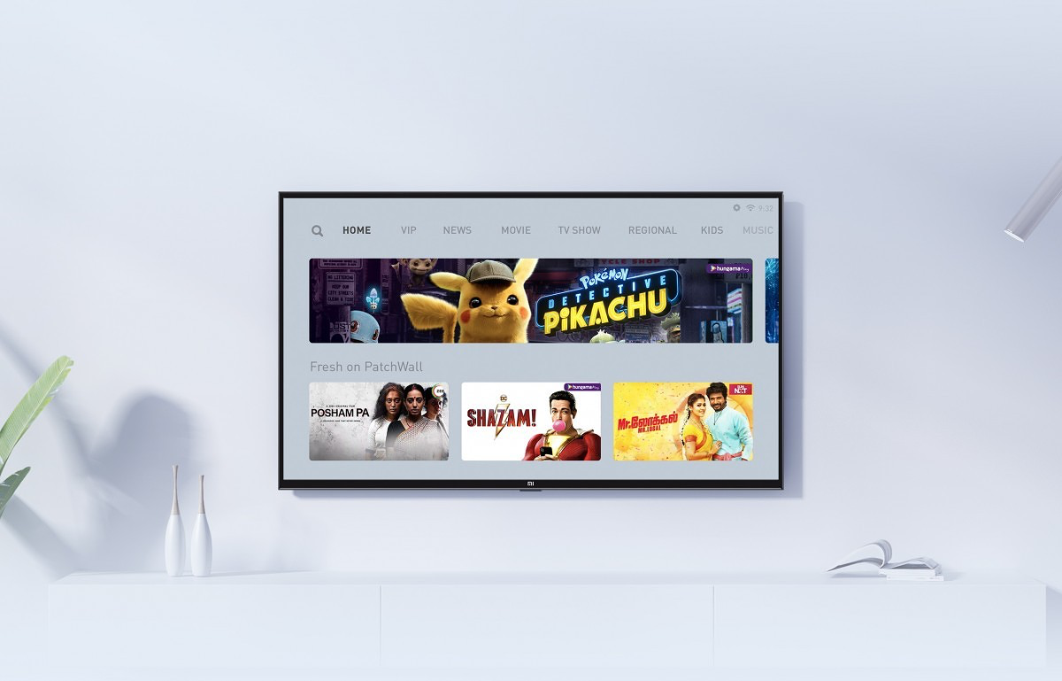 Xiaomi launches PatchWall 3.0 for Xiaomi TV in India with Disney+ integration-cnTechPost