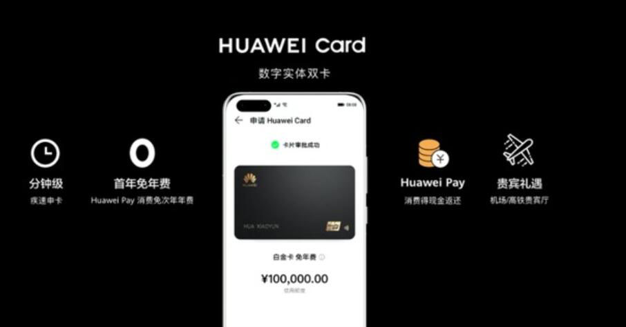 Huawei releases Huawei Pay-based electronic credit card-cnTechPost